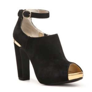 Seychelles Nothing But Trouble Bootie - Black